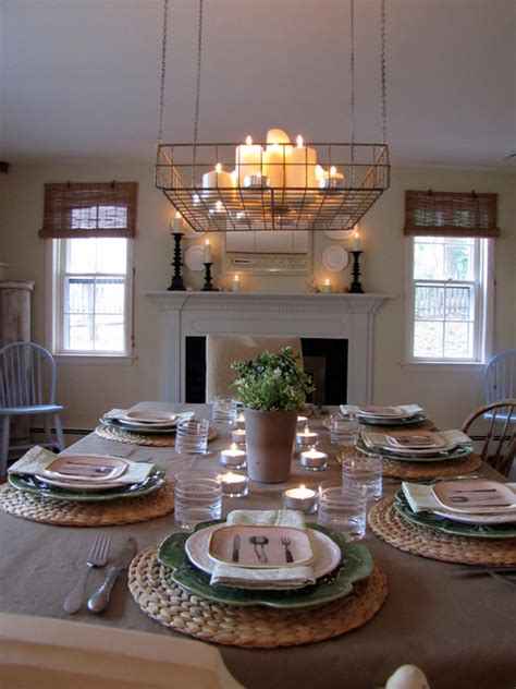 casual dining room lighting farmhouse casual