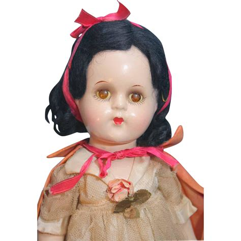 composition snow white doll madame snow white composition doll with original
