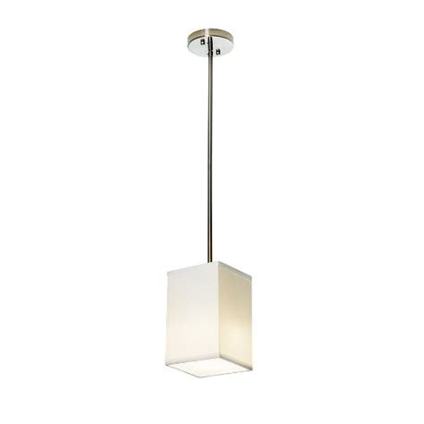 white square l shade gt gt gt sale sharper image si100016 square pendant l with