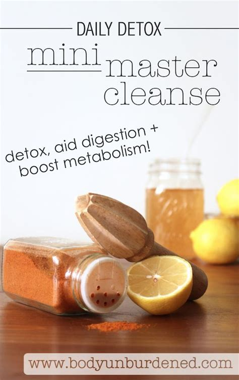 Definition Of Detox Water by The Daily Detox Mini Master Cleanse Cayenne Peppers