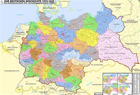 Deutschlandkarte Verwaltungskarte Des Deutschen