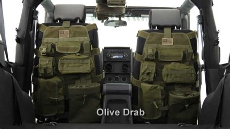 Tactical Jeeps Smitttybilt Gear Jeep Seat Covers