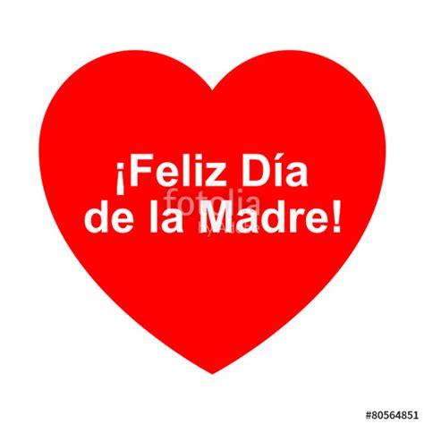 imagenes feliz dia corazon quot icono texto feliz dia de la madre en corazon quot stock photo