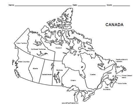 bc map coloring page free printable canada labeled map canada pinterest