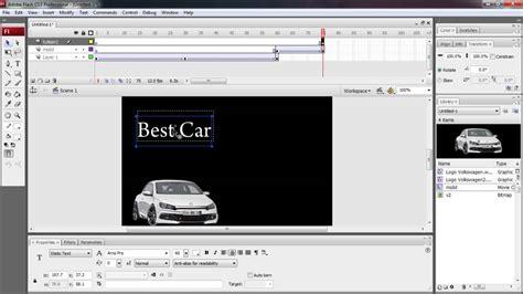 membuat iklan dengan macromedia flash tutorial membuat iklan dengan adobe flash youtube