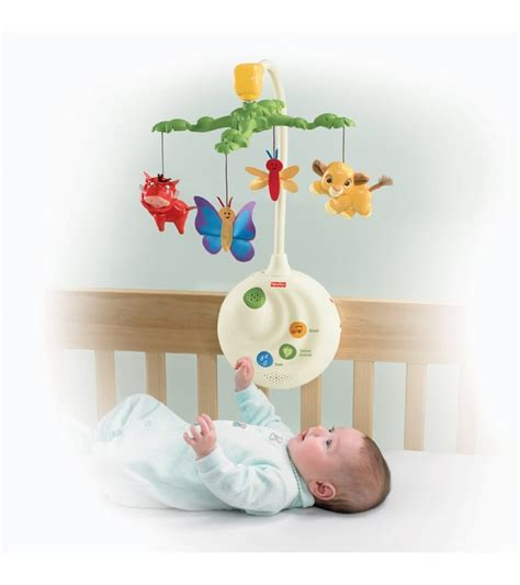 Disney Crib Mobile by Fisher Price Disney Baby The King Projection Mobile