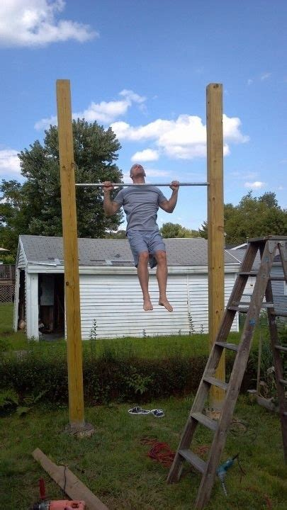 Pull Up Bar In Backyard by Backyard Pull Ups Fitness