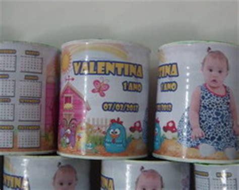 lata decorada tipo saquinho lata de leite decorada tecido joselita prendada elo7