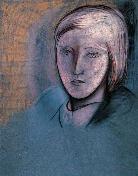 by pablo picasso marie therese walter pablo picasso portrait of marie therese walter 1936