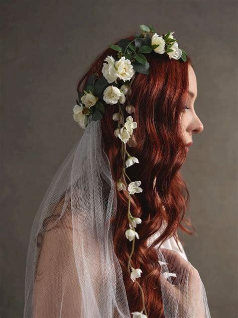 Flower Wedding Veil 25 best flower headpiece ideas on