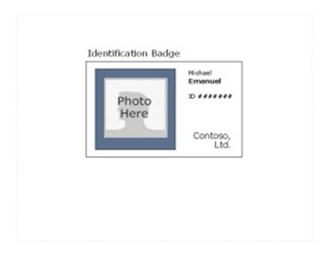 Id Badge Template Free Id Badge Template 187 Template Haven Employee Badge Template Photoshop