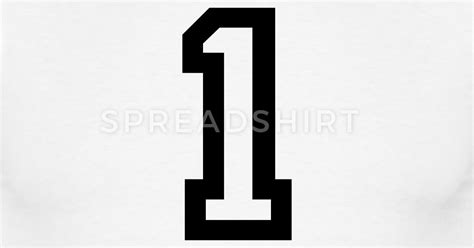 number mp number 1 one t shirt spreadshirt