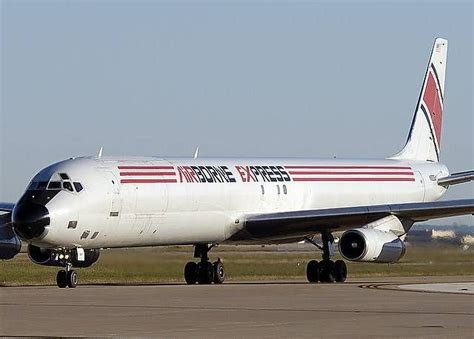 airborne express dc 8 63f cargo airlines abx air airborne express aircraft cargo
