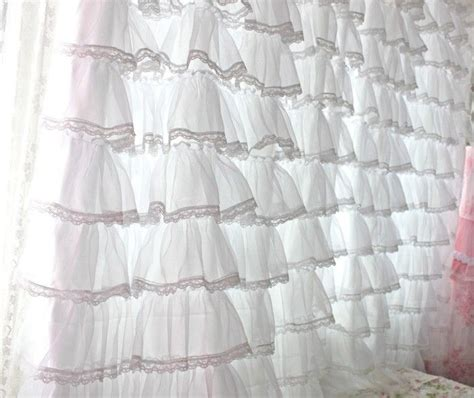 lacey curtains 17 best images about i love ruffles on pinterest