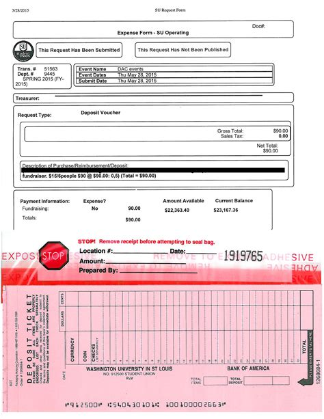 Copy Of Background Check Deposits Student Union