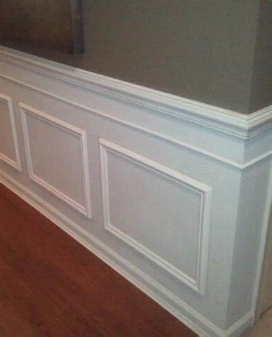 Wainscot Chair Rail by Best 25 Faux Wainscoting Ideas On Wainscoting
