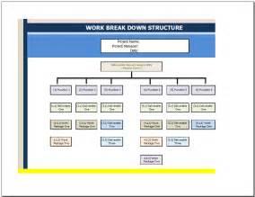 wbs powerpoint template work breakdown structure template free work breakdown