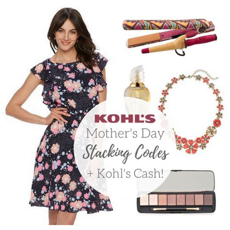 Can I Use Kohl S Cash On Gift Cards - kohl s mother s day stacking codes kohl s cash