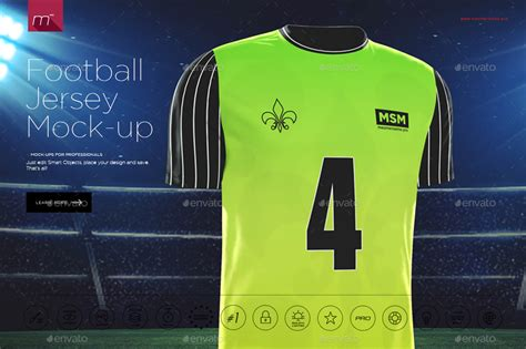 jersey design mockup football jersey mock up by mesmeriseme pro graphicriver