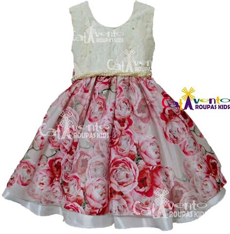 vestido festa infantil pictures to pin on pinterest