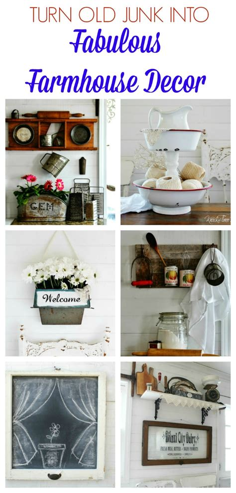 holiday shopping guide farmhouse style knick of time turn old junk into fabulous farmhouse decor knick of time