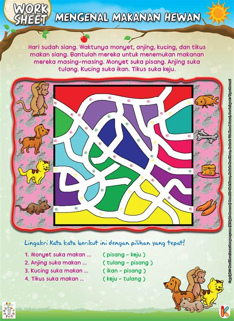 Puzzle Pikacu Isi 3 winiwimpi subtema organ tubuh manusia dan hewan kurikulum