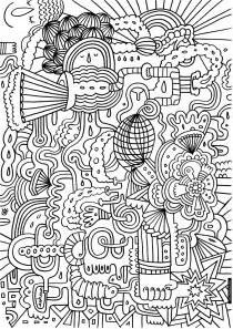 So kindly enjoy these difficult but fun colouring pages and bring out