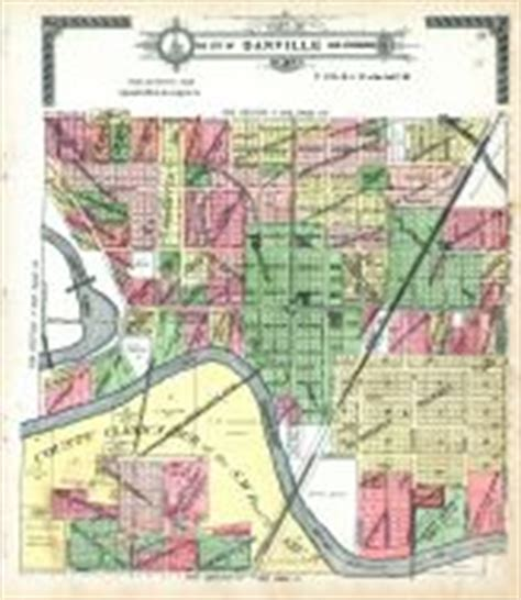 section 8 danville il vermilion county 1915 illinois historical atlas