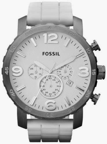 Fossil Fs5118 Grant Beige Chronograph Jam Tangan Original jr1427