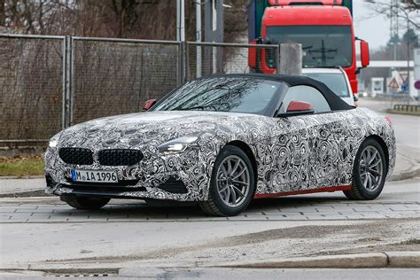 new bmw 2018 z4 new 2018 bmw z4 new production test mule spied auto express