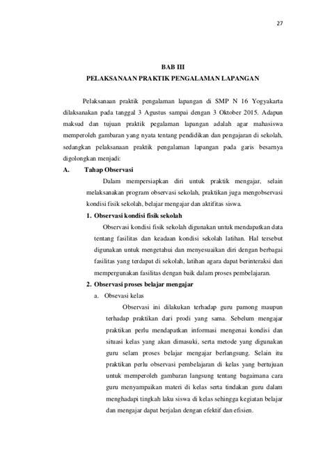format laporan observasi lapangan contoh laporan observasi perpustakaan sekolah contoh su