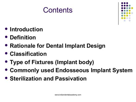 design rationale definition classification type of fixtures sterilization and