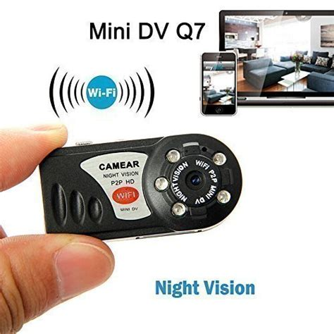 Mini Wifi Q7 Vision Baby Monitoring Ip mini sport w vision captures all the anywhere you can imagine