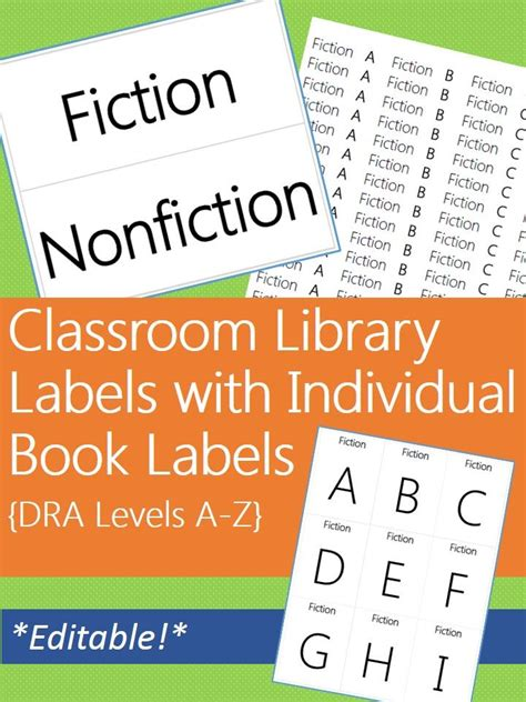 printable genre labels for classroom library pin by amber genzink on fall is in the air teaching stuff