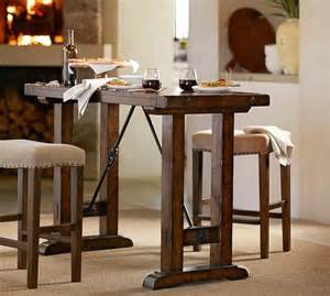 Benchwright Bar Height Table Pottery Barn