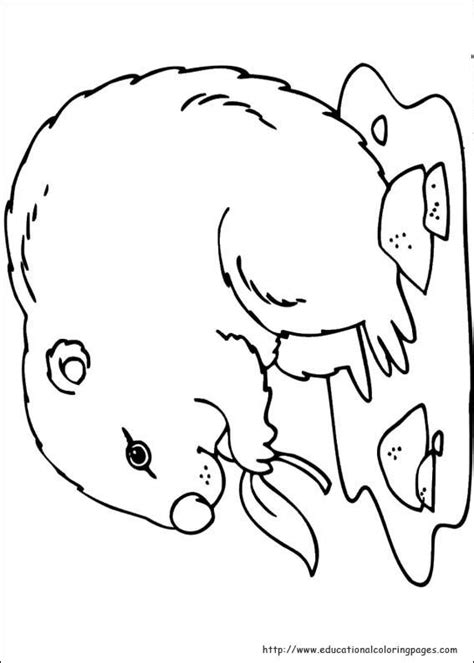 Groundhog Day Coloring Pages Educational Fun Kids Groundhog Day Coloring Pages