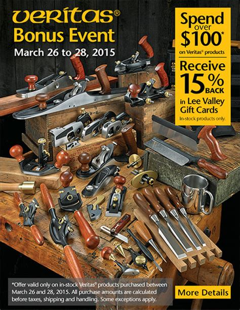 woodworking events get ready buy veritas woodworking tools get free bonus