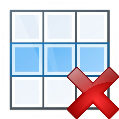 Delete Row From Table by Iconexperience 187 V Collection 187 Table Row Delete Icon