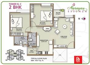 narayan essenza house plan 2 amp 3 bhk apartments in vadodara