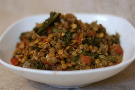 crockpot kale lentil and kale food cooker recipe a year of