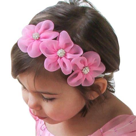 infant baby headband flower kid toddler hair band floral headwear ebay