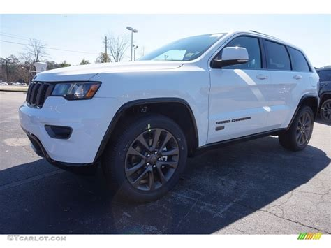 white jeep 2016 2016 bright white jeep grand cherokee limited 75th