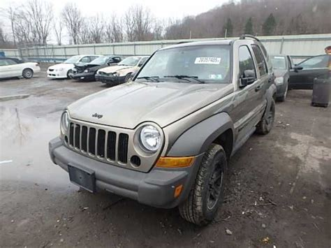 2007 Jeep Liberty Parts 2007 Jeep Liberty Front 117 117 01591 Part