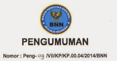 daftar nama peserta lulus seleksi administrasi pengadaan cpns bnn 2014