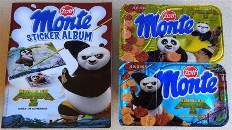 Sticker Stop Kontak Panda 1 2016 kung fu panda 3 monte dessert album 3d sticker sorpresa