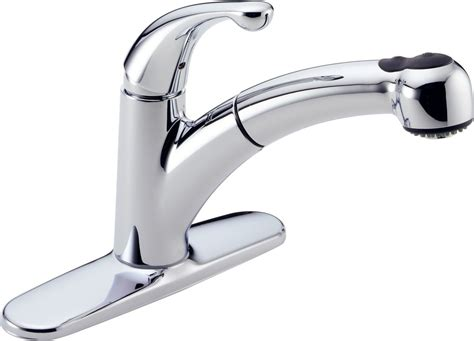 Kitchen Sink Faucet Base by Faucet 467 Dst In Chrome By Delta