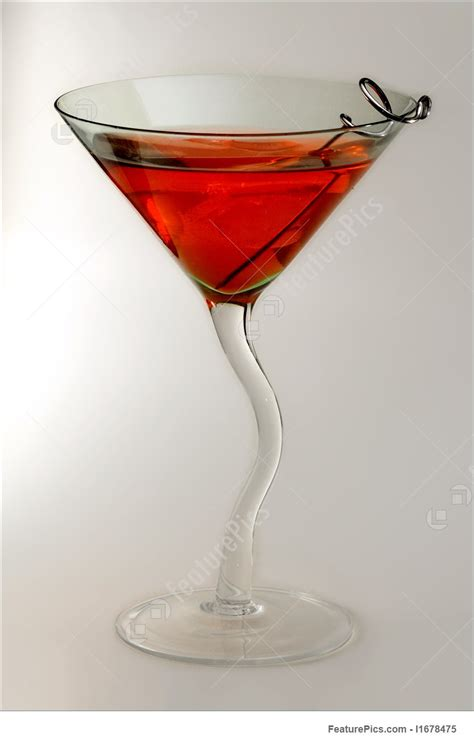 red drink alcoholic beverages red drink in glass stock