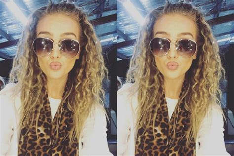perrie edwards statement circular sunglasses fashion
