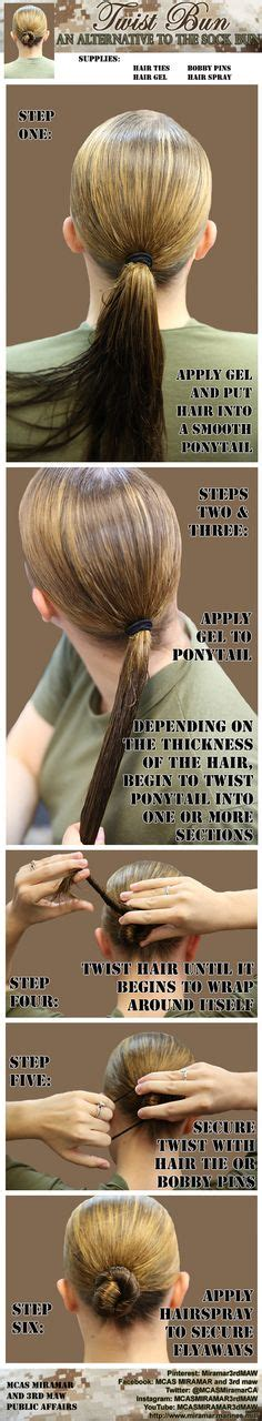 how to do a miltary bun with long hair military haircuts on pinterest haircuts haircuts for