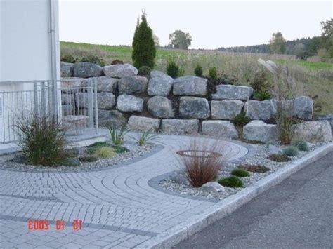 steingarten modern anlegen steingarten vorgarten modern gartens max